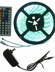 abordables -SENCART 5 m Sets de Luces 300 LED RGB Control remoto / Cortable / Regulable 100-240V 1 juego / 5050 SMD / IP65 / Conectable