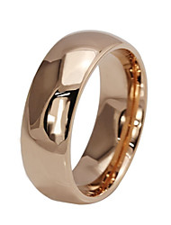 cheap -Men's Women's Basic Stainless Steel Circle Jewelry For Wedding Party