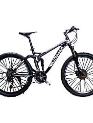 Vélo tout terrain Cyclisme 24 Vitesse 26 pouces/700CC SAIGUAN EF-51 Frein à Double Disque Fourche de suspension Cadre Softail Double