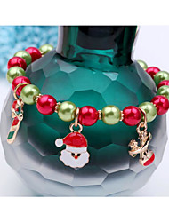 cheap -Men's Women's Bracelet Lovely Alloy Ball Jewelry Christmas Festival Costume Jewelry Rainbow