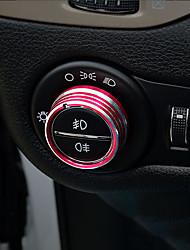 Недорогие -автомобильный Крышки кнопок фар Всё для оформления интерьера авто Назначение Jeep Все года Cherokee Металл