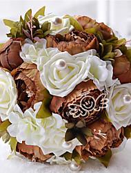 preiswerte -Hochzeitsblumen Sträuße Hochzeit Ripsband 31 cm ca.