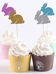 economico -cake topper beach theme tema classico baby shower new baby family compleanno rustico tema animali carta wedding party 12 opp