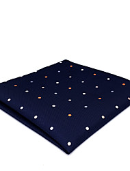 cheap -Men's Silk Cravat & Ascot,Vintage Cute Party Work Casual Dots All Seasons Blue