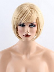 cheap -Synthetic Wigs Elegant Medium Long Natural BoBo Side Part