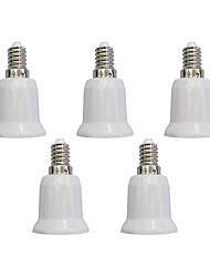 cheap -E14 to E27 Quick Bulb Converter Bulb Accessory 5Pcs