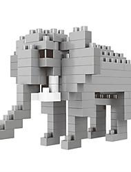 preiswerte -WLtoys Bausteine 100 pcs Elefant Zeichentrick Tier Tiere Heimwerken Tiere Tier Design Jungen Mädchen Spielzeuge Geschenk