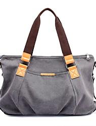 cheap -Women Bags Canvas Shoulder Bag Zipper for Casual All Season Blue Gray Fuchsia Coffee Khaki