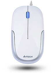 baratos -a4tech n-110 wired office mini mouse usb 3 teclas 1000dpi com cabo de 60cm