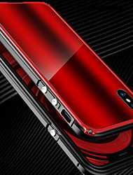 cheap -Case For Apple iPhone X iPhone X Shockproof Bumper Solid Color Hard Metal for iPhone X