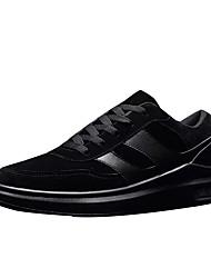 Da uomo Scarpe Cashmere Primavera Autunno Comoda Sneakers Per Casual Nero Grigio Cachi