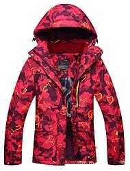 abordables -Femme Veste de Ski Chaud, Etanche, Pare-vent Ski Coton Veste d'Hiver Tenue de Ski
