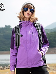 cheap -Unisex Hiking Jacket Outdoor Winter Windproof Wearable Breathability Skiing Heat Retaining 3-in-1 Jacket Full Length Hidden Zipper