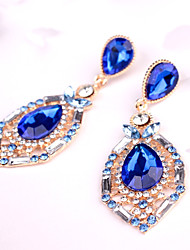 cheap -Women's Drop Earrings Hoop Earrings Crystal Classic Fashion Crystal Drop Jewelry For Party Gift