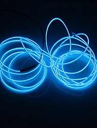 cheap -BRELONG® 2m String Lights 0 LEDs White / Red / Blue <5 V 1pc