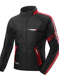 Men Motorcycle Protective Jacket with Waterproof Warm Jecket Cardigan Protector Gear for Motorsport