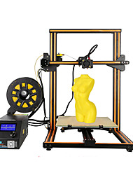 creality3d cr - 10s 3d desktop diy printer - eu plug upgrade version café e preto