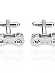 cheap -Cufflink Tie Bar Tie Clip  Cooper Link/Chain Cufflinks Office & Career Men's