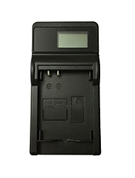 caricabatterie per fotocamera usb ismartdigi 5l lcd per canon nb-5l sx210 220 230hs ixus 950 960 970 980 990 - nero