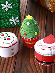 economico -Party/serata Natale Bomboniere e regali per feste-Bomboniere pratiche Regali Tessuto imbottito Vacanza Matrimonio Famiglia