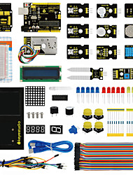 cheap -2017 NEW!Keyestudio Environment Monitoring Kit with Uno Board And V5 for Arduino