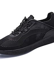 baratos -Homens sapatos TPU Primavera Outono Solados com Luzes Tênis para Casual Branco Preto