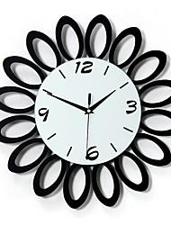 abordables -Personajes Vacaciones Inspirador Familia Amigos Dibujos Animados Reloj de pared,Novedad Interior /Exterior Reloj