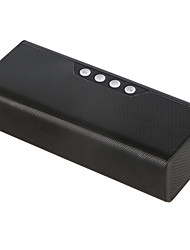 preiswerte -B23 Bluetooth Lautsprecher V2.1 2.5 mm AUX USB Lautsprecher für Aussenbereiche Schwarz Grau Wein Hellblau