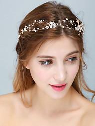 preiswerte -Perle Kristall Kopf Kette Kopfbedeckung elegant klassischen femininen Stil