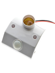 cheap -E27 PIR Motion Sensor LED Lamp Base Holder With light Control Switch Infrared Induction Bulb Socket