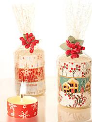 vela de aromaterapia romântica livre de fumo óleo essencial europeu spa incenso candelabro vela de jantar para fumar