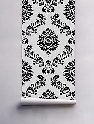 Geométrica Papel de Parede Para Casa Clássico Rústico Revestimento de paredes , PVC/Vinil Material Auto-adesivo papel de parede ,