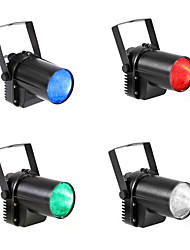 cheap -U'King 4pcs LED Stage Light / Spot Light Spot Lights Auto 5 for Outdoor Party Stage Wedding Club Professional High Quality