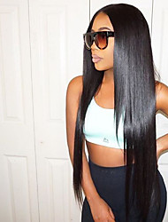 cheap -Long Straight Lace Front Wigs Brazilian Human Hair Wigs  Glueless Lace Front Wigs Virgin Hair Wigs with Baby Hair