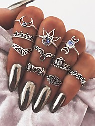 cheap -Women's Knuckle Ring - Vintage Hamsa Hand One Size Silver For Daily / Bar