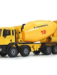 cheap -Construction Truck Set Concrete Mixer Toy Truck Construction Vehicle Toy Car Educational Toy 1:50 Classic Pivoting Head Soft Plastic