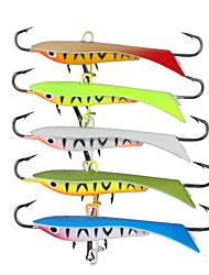 cheap -5 pcs Fishing Lures Jig Head Metal Bait Buzzbait & Spinnerbait Jigs Metalic Hard Metal Sea Fishing Fly Fishing Bait Casting Ice Fishing