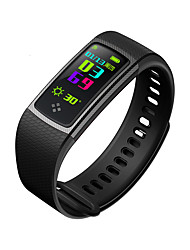 cheap -S9 Smart Wristband Heart Rate Monitor Fitness Tracker Color Screen Blood Pressure Blood Oxygen Measure for iOS Android