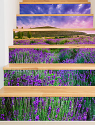 abordables -Paysage Romance A fleurs/Botanique Stickers muraux Caisson de Protection Autocollants avion Autocollants muraux 3D Autocollants muraux