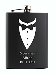 cheap -Non-personalized Material Stainless Steel Others Barware & Flasks Flask Hip Flasks Groom Groomsman Parents Baby & Kids Party Party /