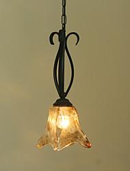 preiswerte -Rustikal/ Ländlich Pendelleuchten Für Esszimmer Korridor Shops/ Cafés AC 220-240 AC 110-120V Glühbirne nicht enthalten