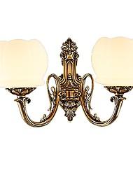 cheap -Wall Light Uplight Wall Sconces 10W 220-240V 110-120V E26/E27 Rustic/Lodge Retro/Vintage Brass