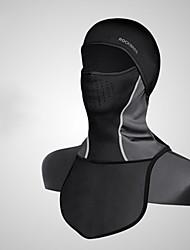 Недорогие -bivakmutsen Зима Сохраняет тепло С защитой от ветра Флисовая подкладка Велоспорт Универсальные Спандекс Однотонный