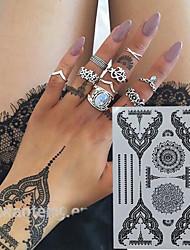 abordables -alimentación del tatuaje papel completa la plantilla del tatuaje