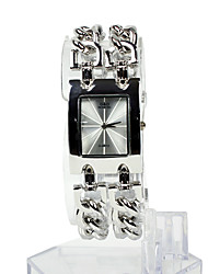 cheap -Women's Watch Square Radial Pattern Dial Bracelet Watch Cool Strap Watches Unique Watches Fashion Watch