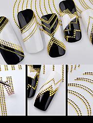 Недорогие -Стикер искусства ногтя Аппликации Стикер Инструменты сделай-сам Наклейка для фольги макияж Косметические Ногтевой дизайн