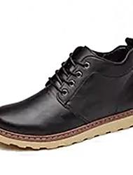 Homme Chaussures Polyuréthane Hiver Confort Basket Lacet Pour Décontracté Noir Jaune Brun Foncé