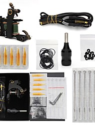 kit tatuaggio 1 green coil tattoo machine 1 grip e altri accessori tattoo machine
