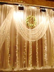 cheap -3M X 3M 300 LED Window Curtain String Light for Wedding Party Home Garden Bedroom Outdoor Indoor Wall Decorations