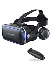 VR Shinecon 6.0 Headset Version Virtual Reality Glasses 3D Glasses Headset Helmets Smartphone with Controller